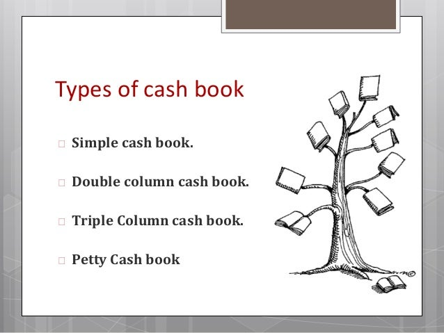 Simple Cash Book  Prepared