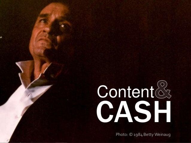 CASHContentPhoto: © 1984 Betty Weinaug