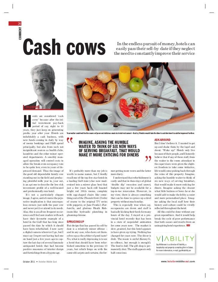 Cash cows