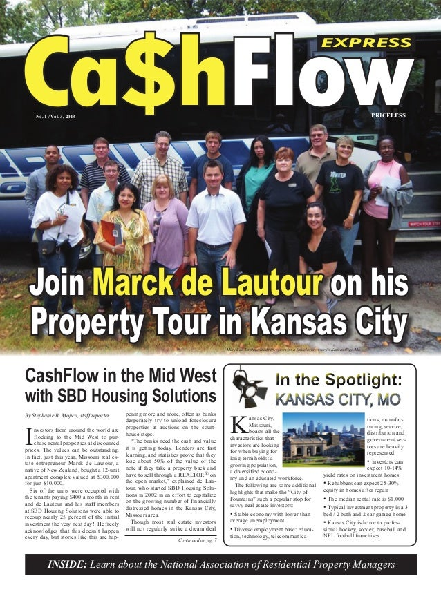 CashFlow Express #3 Featuring Marck de Lautour with SBD Housing Solutions