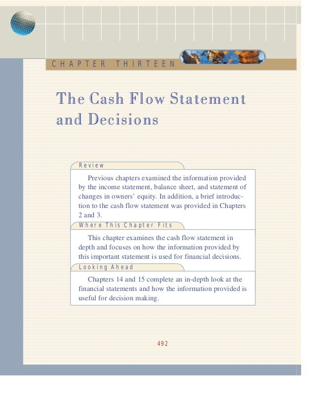 accounting cash flows essay Cash flow definition: the cash flow of a firm or business is the movement of money into and out of it | meaning, pronunciation, translations and examples.