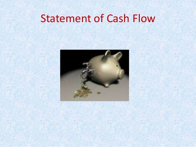 Cash flow, working capital and dividens