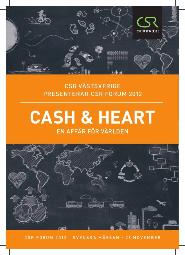 CSR Forum 2012: Cash & Heart folder final