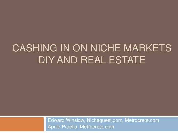 Cash in on the Growing Home Repair and Improvemen Niche Market using Affiliate and Content Marketing.