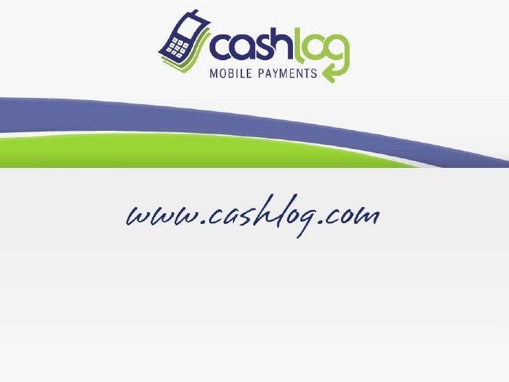 Cashlog: soluzione per gli M-Payments - How It Works