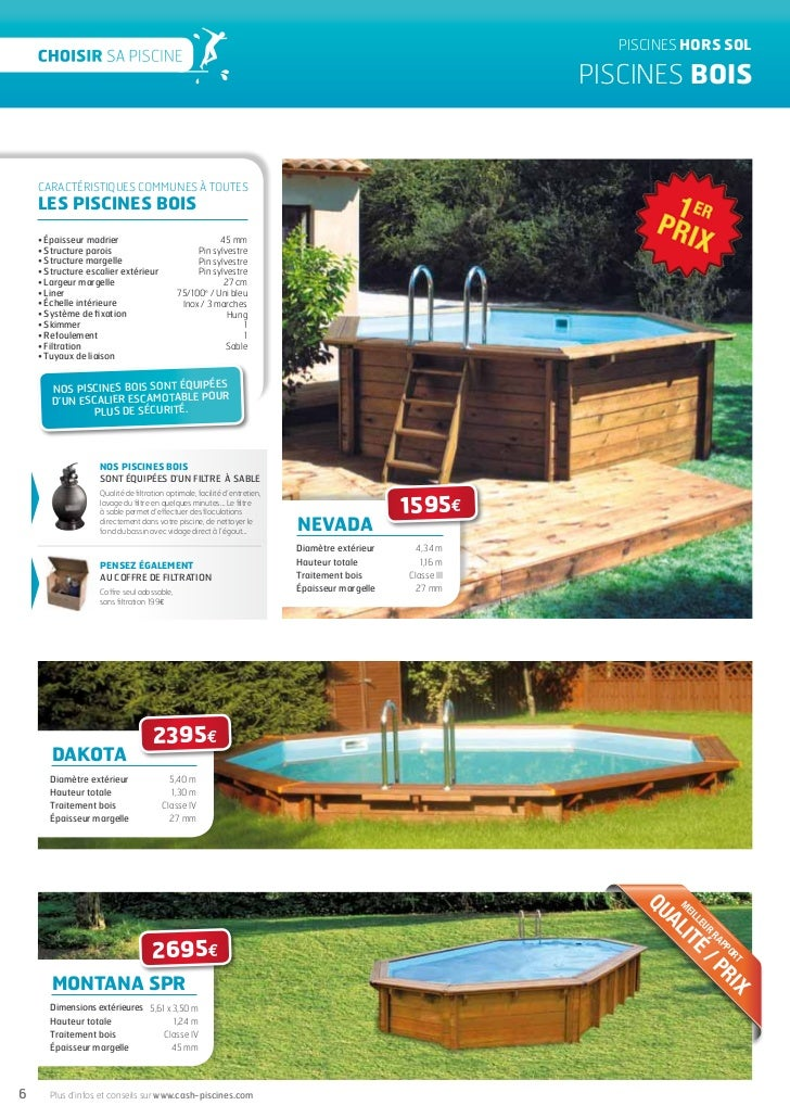 Piscine bois cash piscine for Piscine bois montana