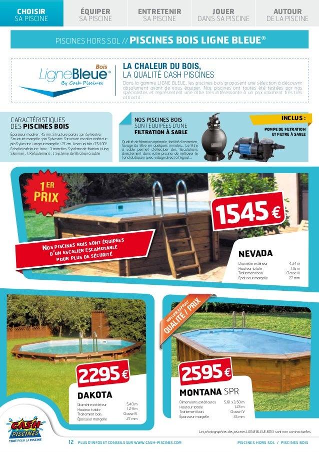 Piscine hors sol cash piscine for Piscine catalogue