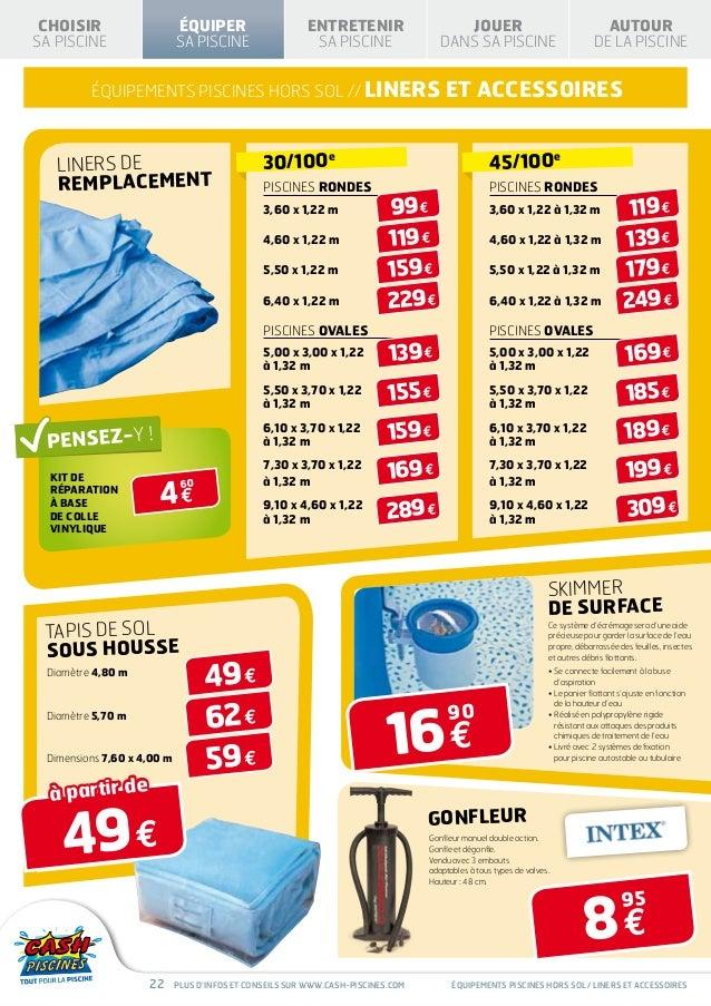 Cash Piscines Catalogue 2013 Equiper Sa Piscine