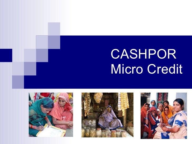 MFI Analysis: Cashpor