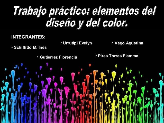 INTEGRANTES:• Schiffitto M. Inés• Urrutipi Evelyn• Gutierrez Florencia• Vago Agustina• Pires Torres Fiamma