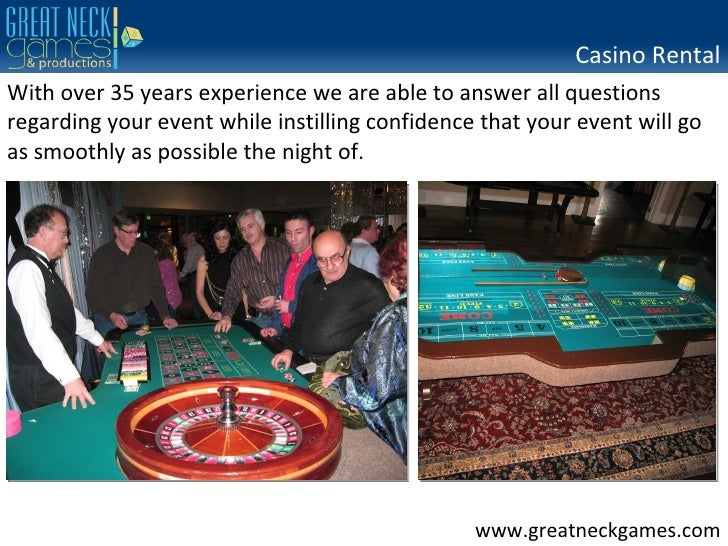 Casino party hire north west