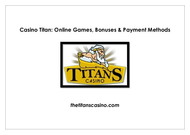 best casino bonuses online payment methods