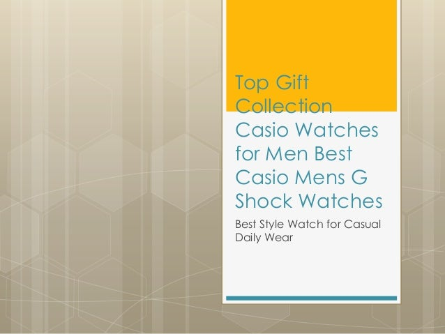 Casio Watches for Men Best Casio Mens G Shock Watches