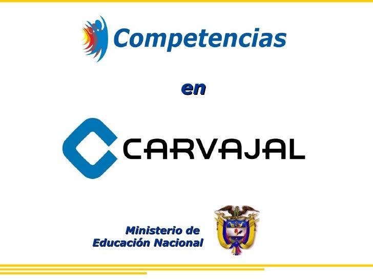 Caso Competencia En Carvajal S.A.