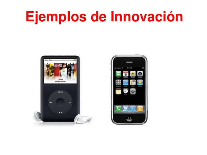 5 ejemplos de productos: