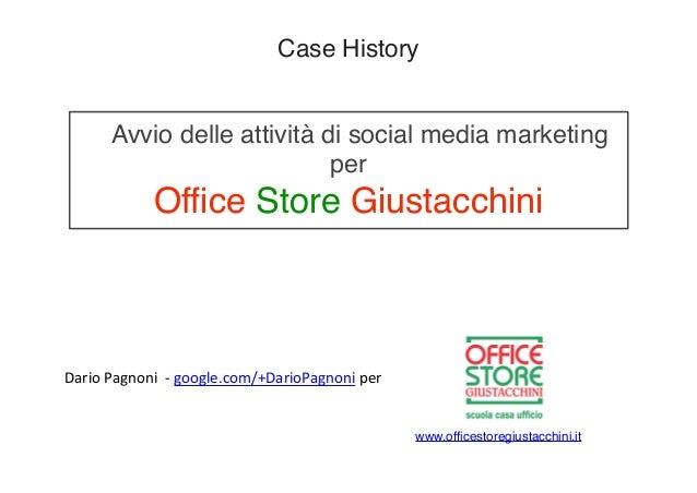 Social Media Marketing - Caso Office Store Giustacchini