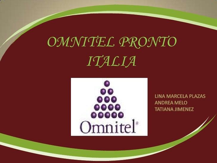 OMNITEL PRONTO     ITALIA