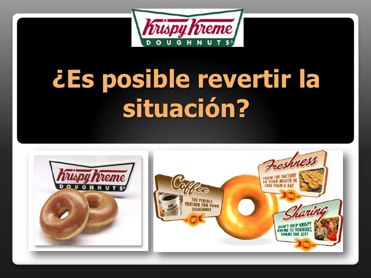 Caso 5   Krispy Kreme