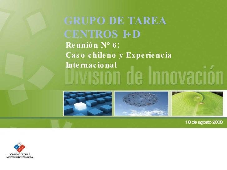 Caso chileno y experiencia internacional OK