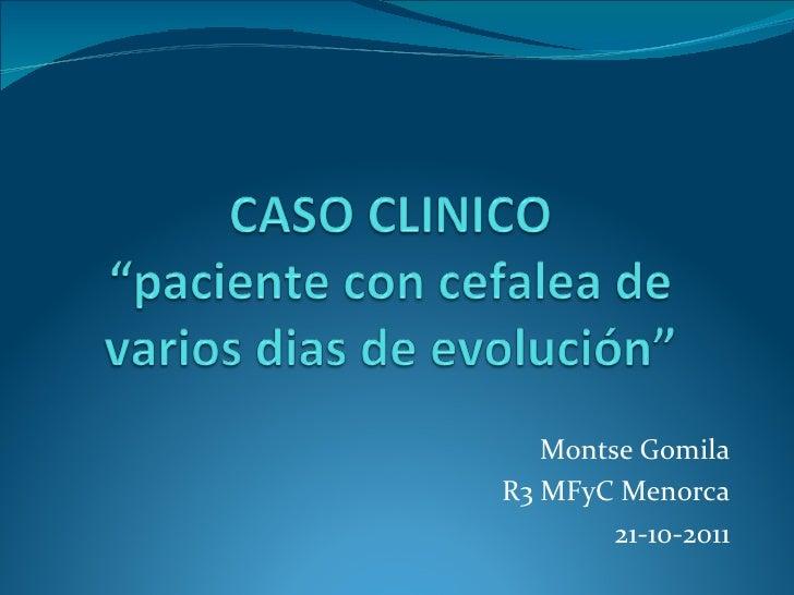 Montse Gomila R3 MFyC Menorca 21-10-2011