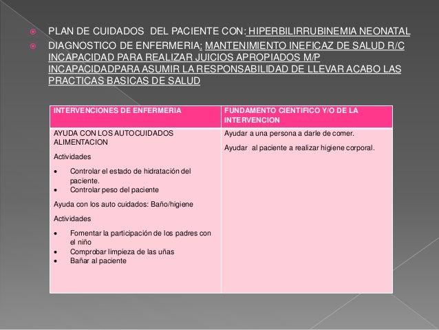 Baño De Regadera Fundamentos De Enfermeria:Caso clínico hiperbilirrubinemia neonatal (ictericia)