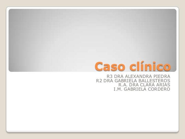 caso clinicos