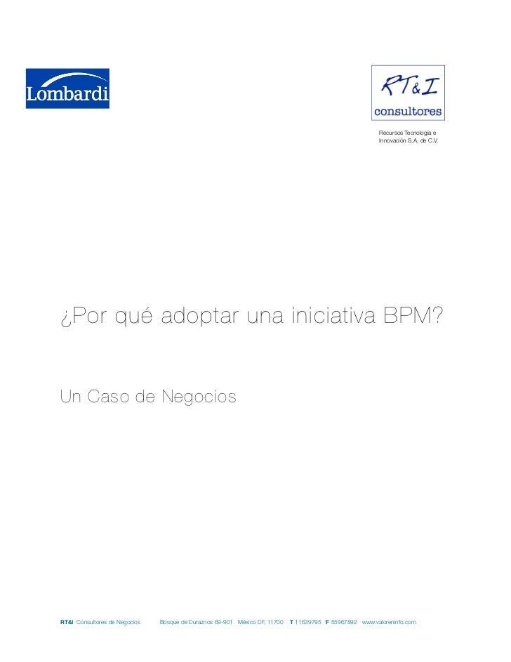 Cap. 9 Caso de éxito BPM