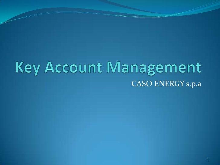 CASO ENERGY s.p.a                         1
