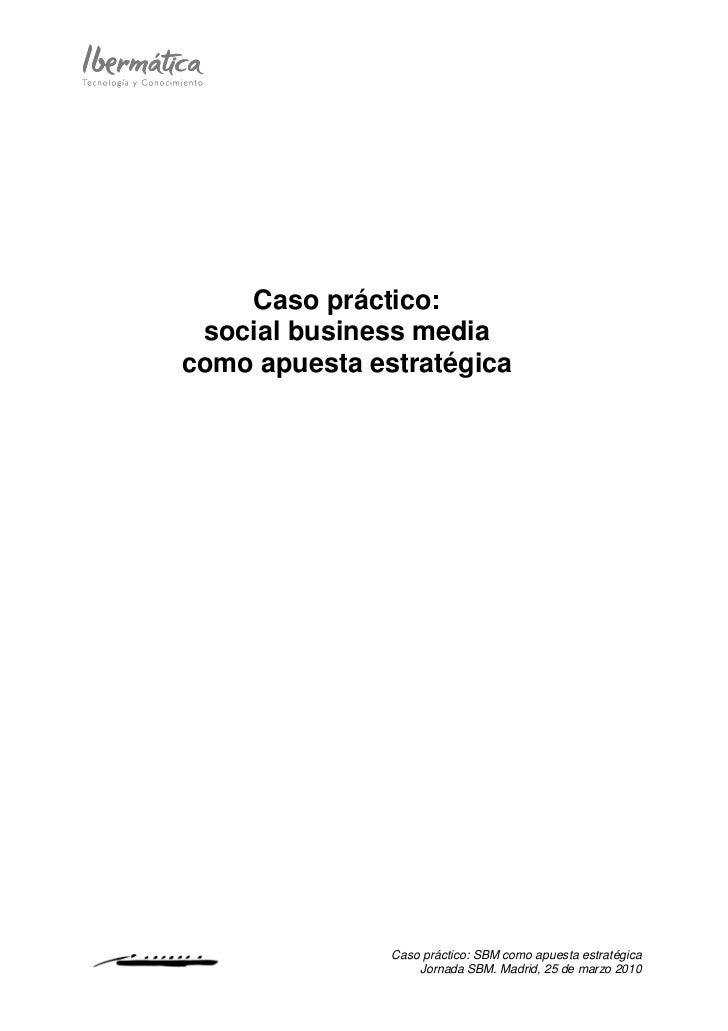 Caso Estudio  Sbm 25032010