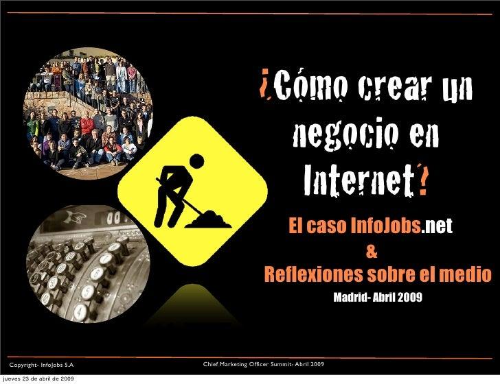 Caso Info Jobs- Presentacion Chief Marketing Summit