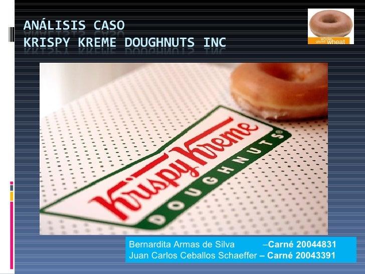 Caso Krispy Kreme