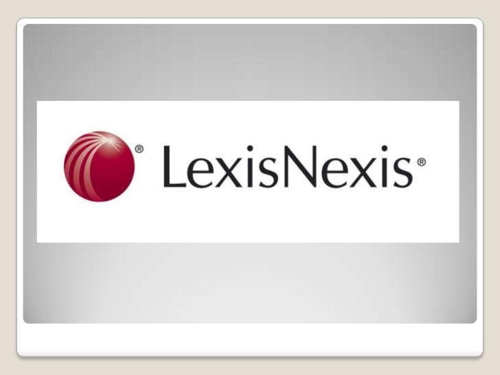 Caso Lexis Nexis