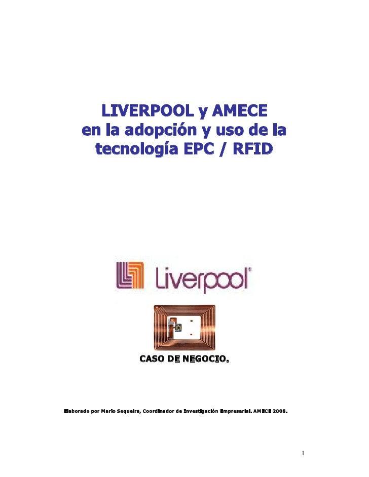 Caso Negocio  E P C - R F I D  Liverpool