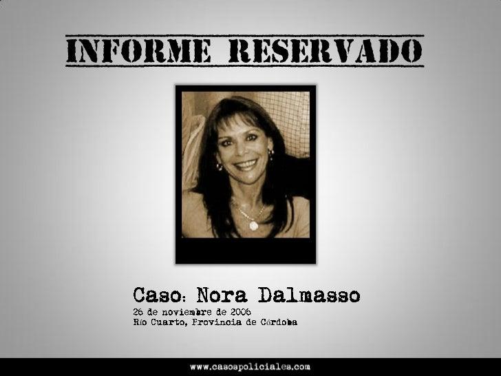 Caso Nora Dalmasso  -  Casos Policiales