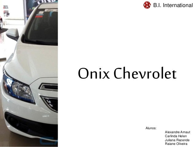 Trabalho Gerenciamento de Crise na BI Internation de BH: Case Onix da Chevrolet