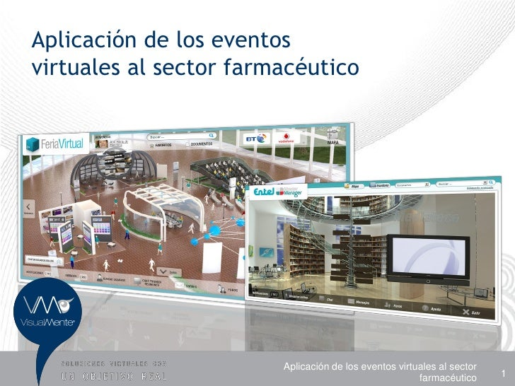 Casos de uso eventos virtuales sector laboratorios farmaceutico - VisualMente