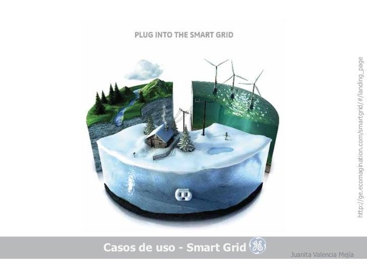 Casos de uso - Smart GridJuanita Valencia Mejía                                        http://ge.ecomagination.com/smartgr...