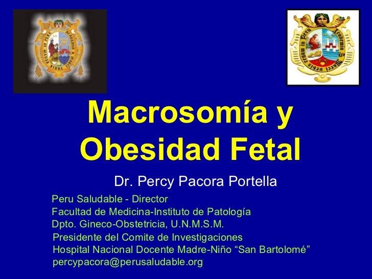 Casos macrosomia fetal