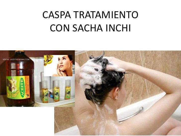 CASPA TRATAMIENTO CON SACHA INCHI