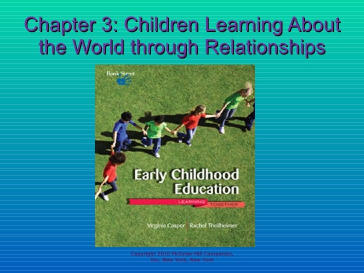 Chapter 3: Children Learning About the World through Relationships Copyright 2010 McGraw-Hill Companies, Inc. New York, Ne...