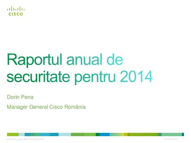 Raportul Cisco de securitate pentru anul 2014