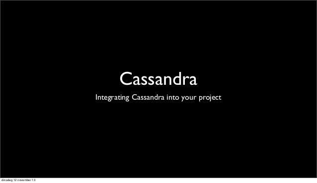 Cassandra - PHP