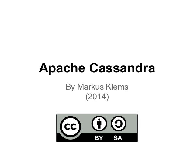 Cassandra background-and-architecture