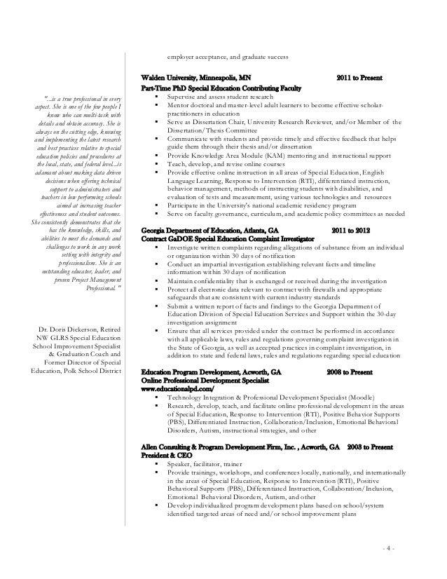 General Dentist Resume Sample