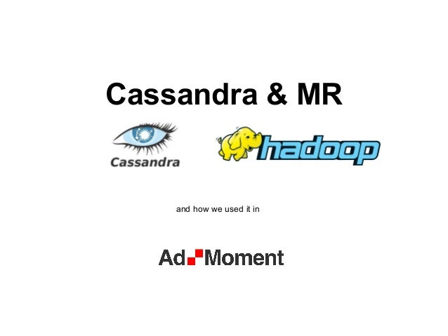 Cassandra&map reduce