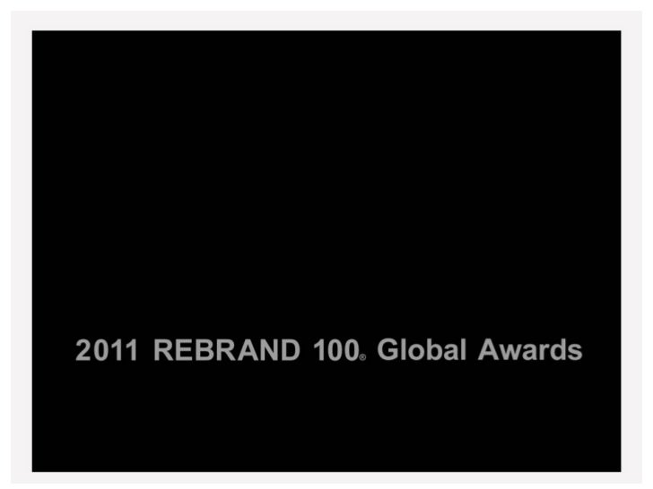 Cassidy Turley Global Rebrand 100 Award
