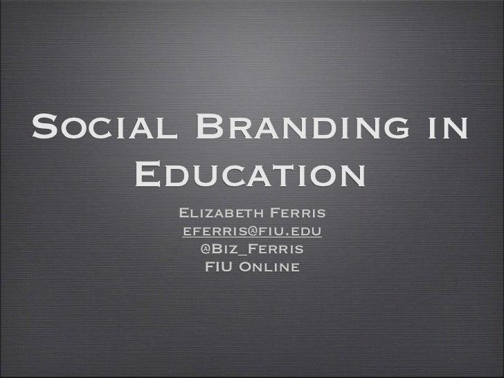 Cas social branding