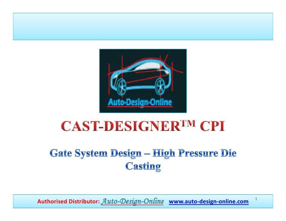 Cast designer hpcd-case_study