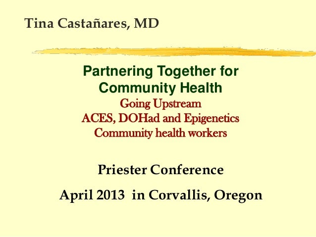 Castañares Partnering Together for Community Health