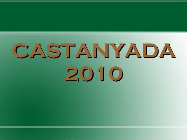 CASTANYADACASTANYADA 20102010